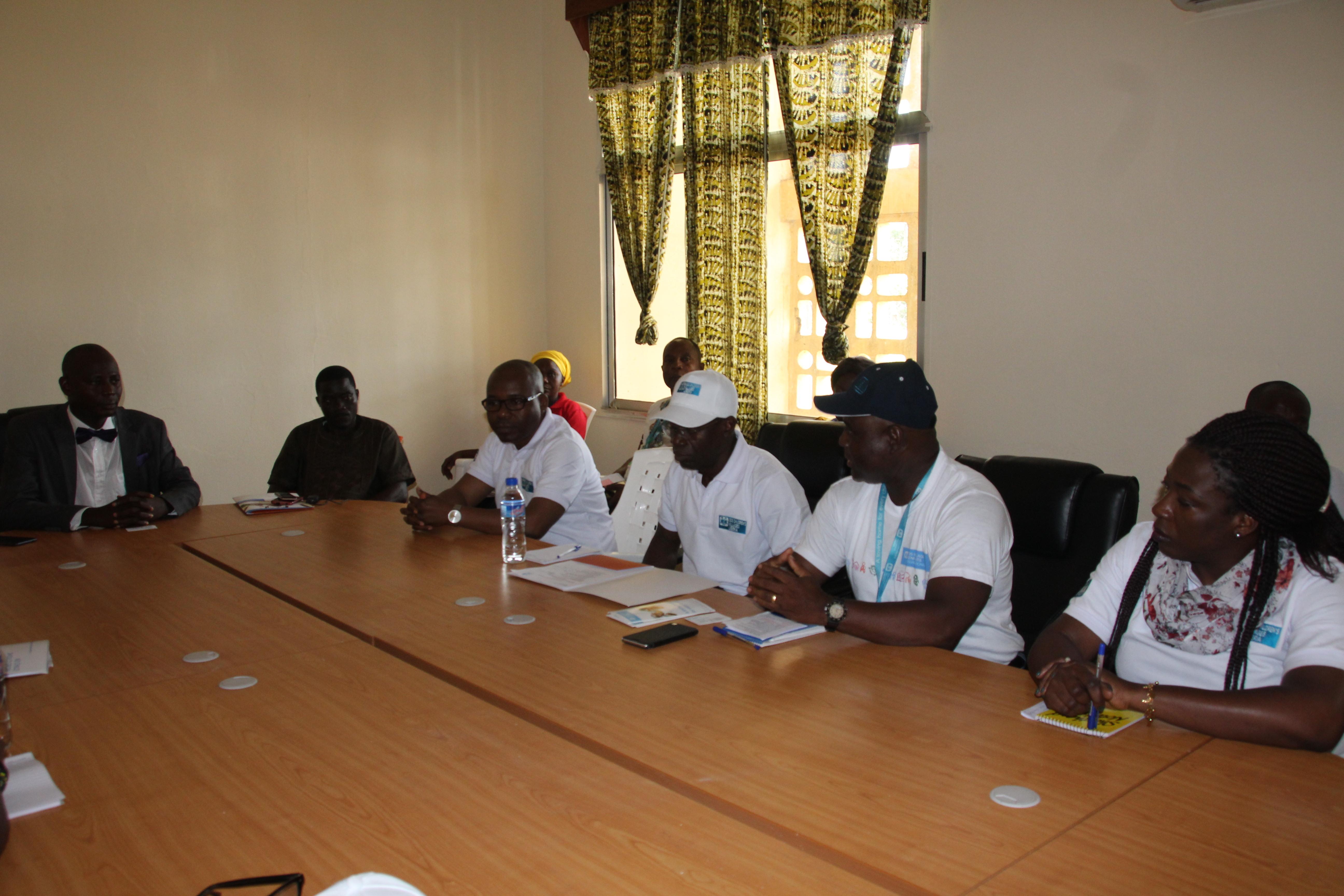 SOS Delegation Meets Multi-stakeholders in Buchanan