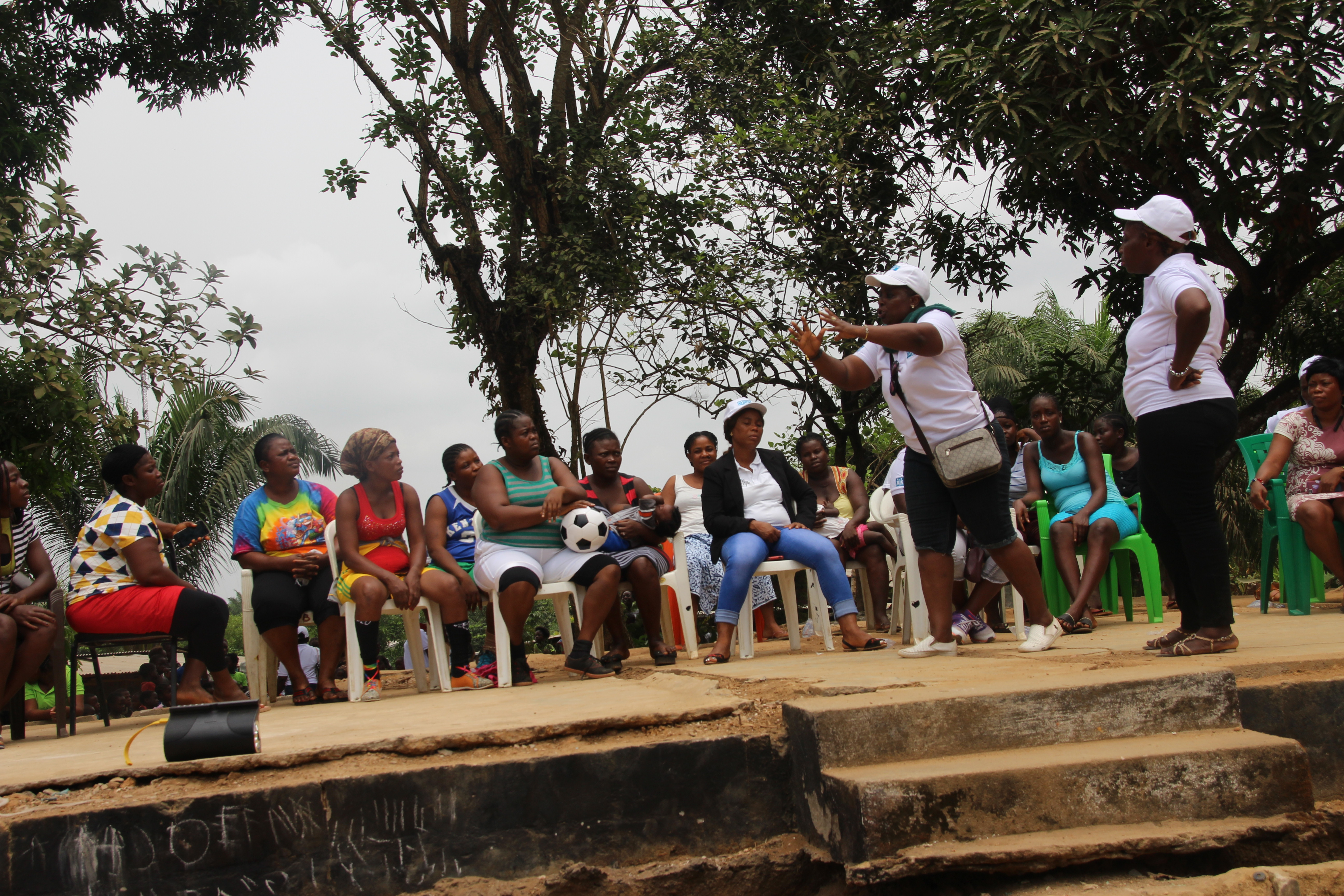 Liberia: SOS Mothers spend International Women's Day teaching mothers and caregivers in the VOA community good parenting, child care and other relevant skills