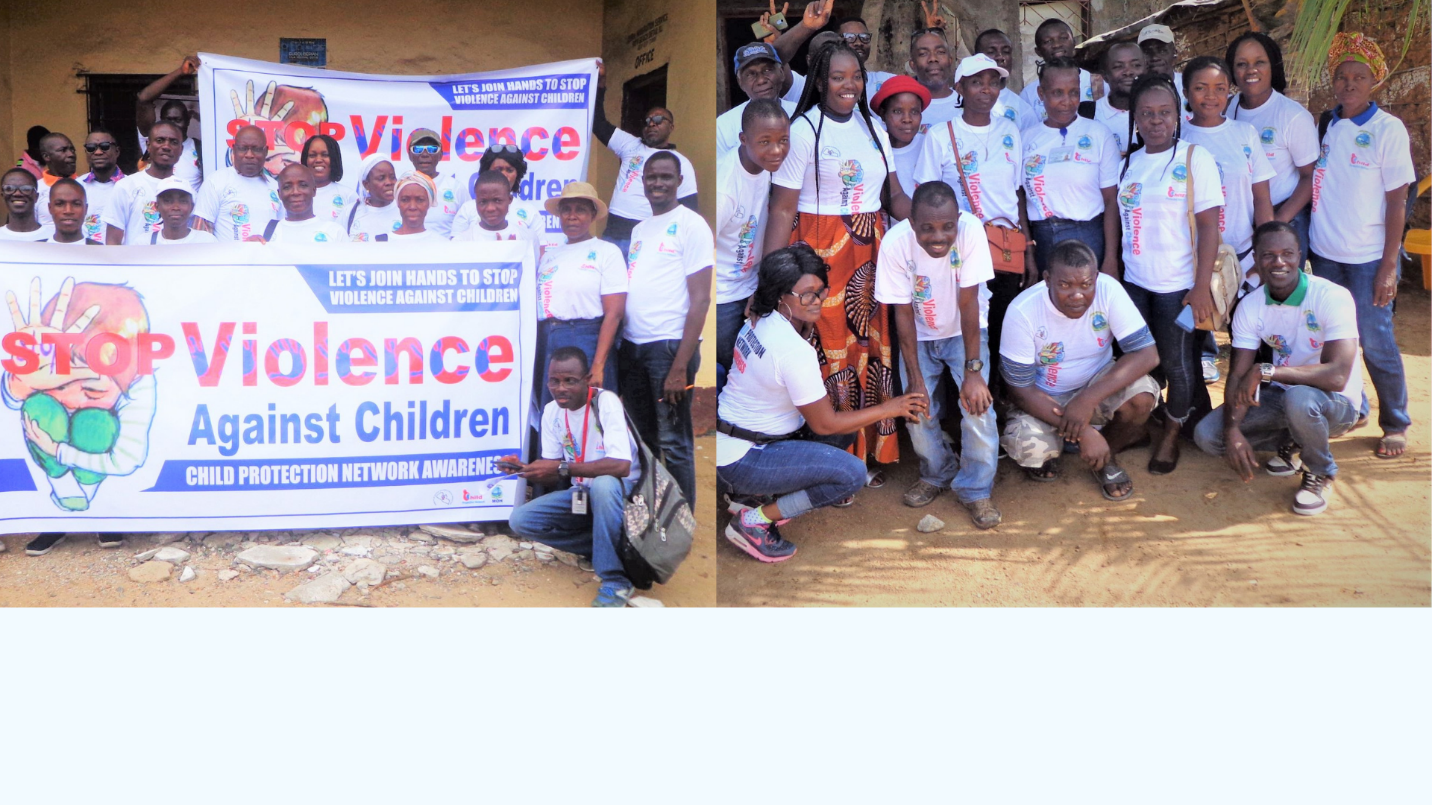 SOS Liberia and Partners Campaign To End Violence Against Children