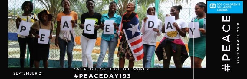 SOS Liberia Collaborates with PEACE ONE DAY to Commemorate International Peace Day