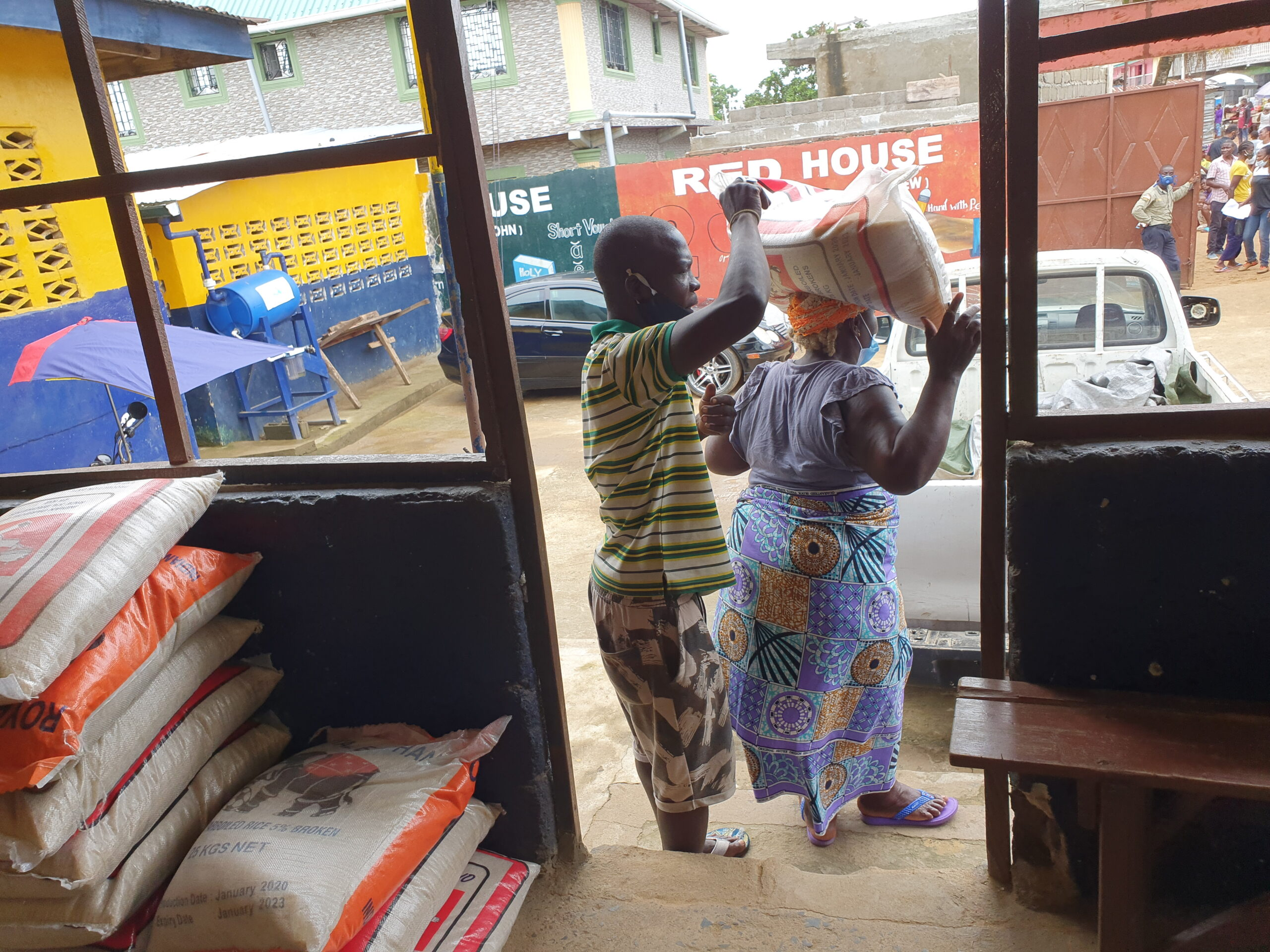 Food assistance to extremely vulnerable families in our Family Strengthening (FS) Program