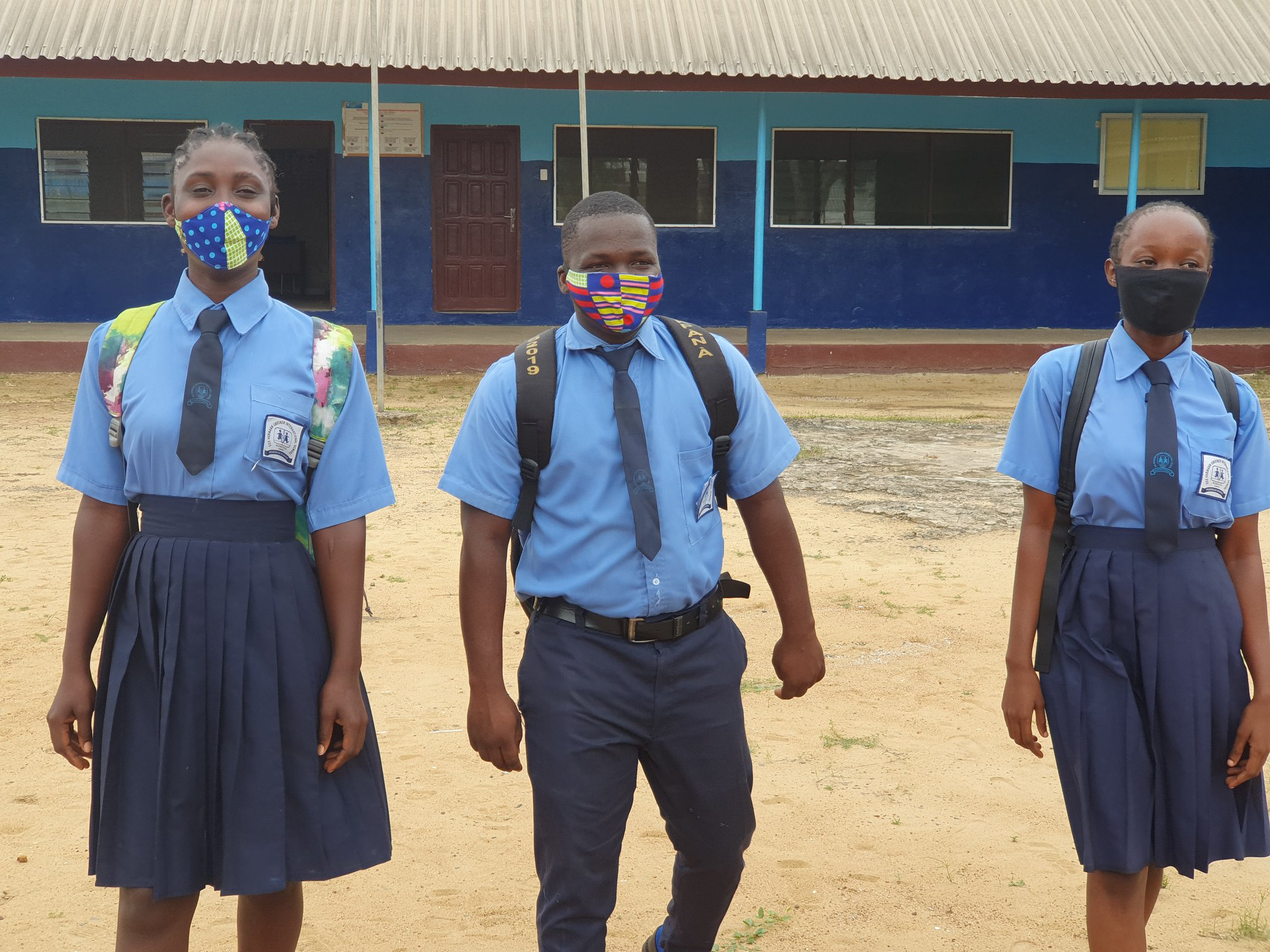 As 12th Graders return to school after 4 months of school closure due to Coronavirus, SOS Children's Villages Liberia tightens COVID-19 preventive measures