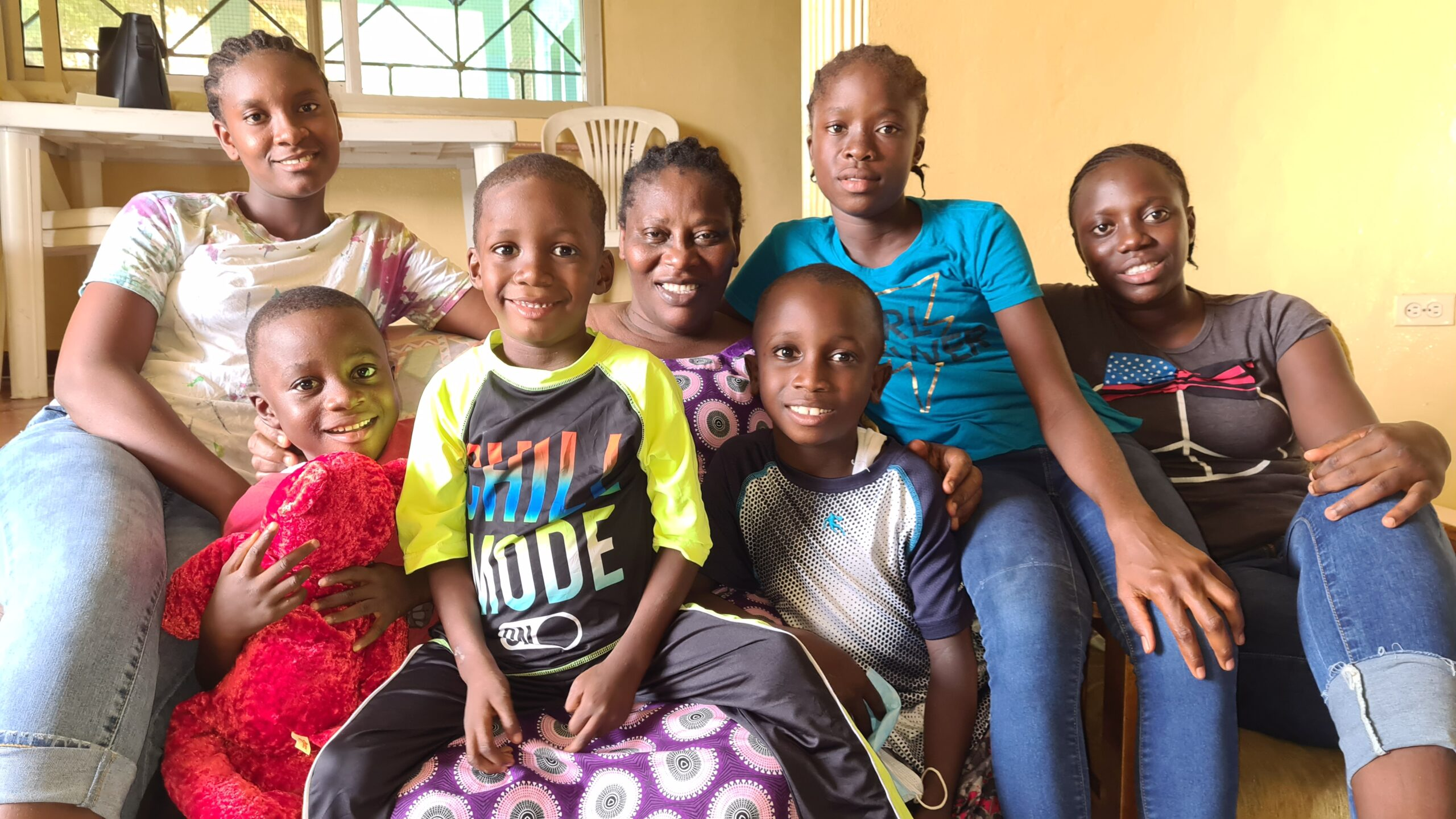 Helping to strengthen Care: SOS Liberia integrates two-family homes in Buchanan, Grand Bassa County